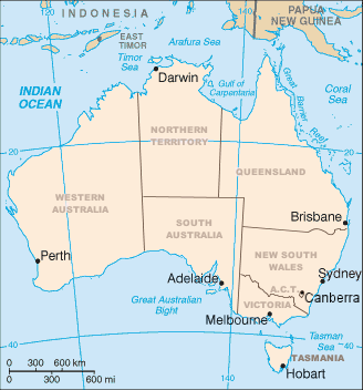 Map of Australia - Wikimedia Commons